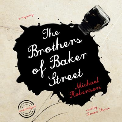 The Brothers of Baker Street by Michael Robertson audiobook