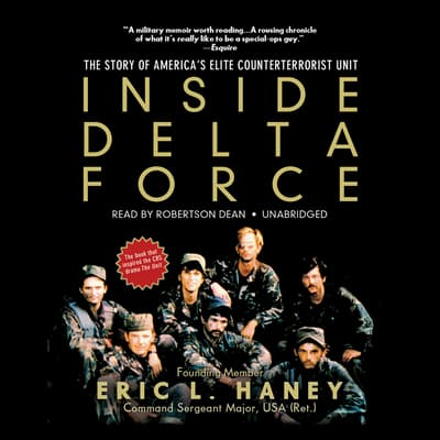 Inside Delta Force by Eric L. Haney audiobook