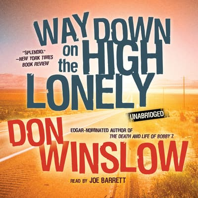 Way Down on the High Lonely by Don Winslow audiobook