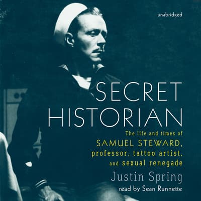 Secret Historian by Justin Spring audiobook