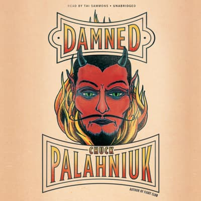 Damned by Chuck Palahniuk audiobook