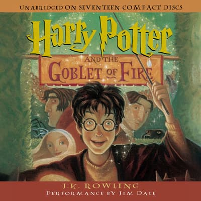 Harry Potter and the Goblet of Fire by J. K. Rowling audiobook