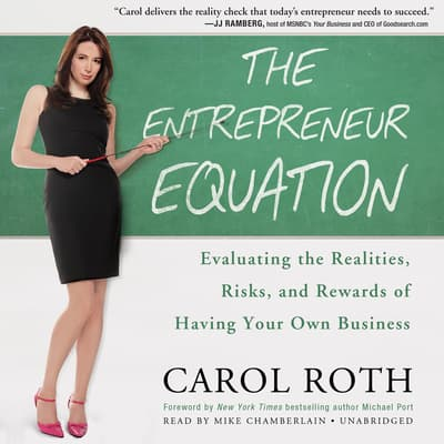 The Entrepreneur Equation by Carol Roth audiobook