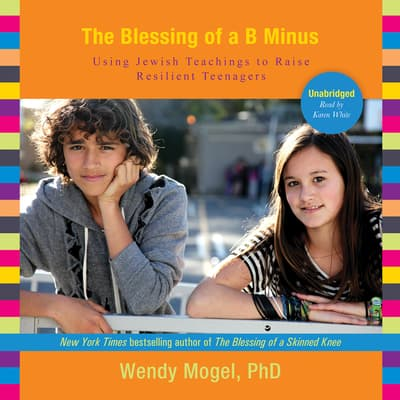 The Blessing of a B Minus by Wendy Mogel audiobook