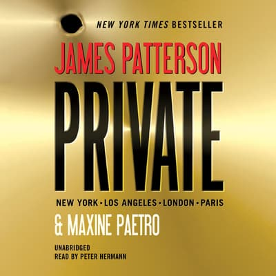 Private by James Patterson audiobook