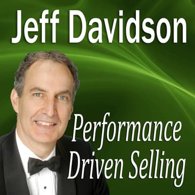 Performance Driven Selling by Made for Success audiobook