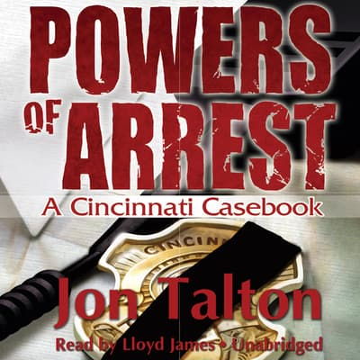 Powers of Arrest by Jon Talton audiobook