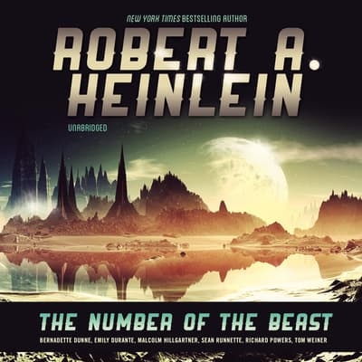 The Number of the Beast by Robert A. Heinlein audiobook