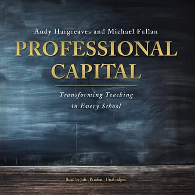 Professional Capital by Andy Hargreaves audiobook