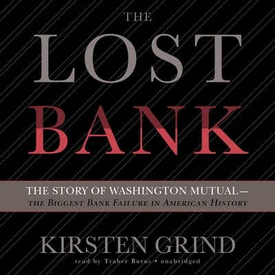 The Lost Bank by Kirsten Grind audiobook
