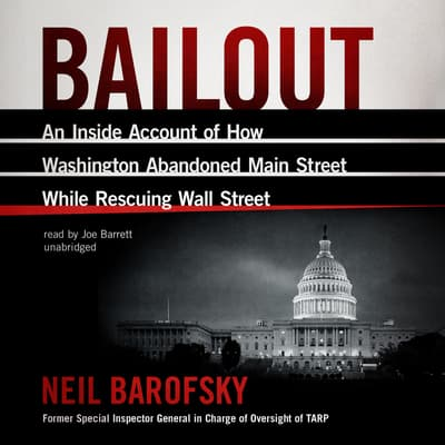 Bailout by Neil Barofsky audiobook