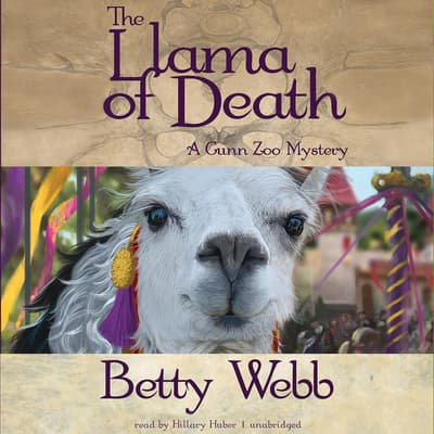 The Llama of Death by Betty Webb audiobook
