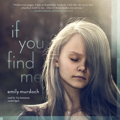 If You Find Me by Emily Murdoch audiobook