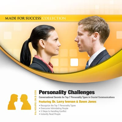 Personality Challenges by Made for Success audiobook