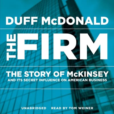 The Firm by Duff McDonald audiobook