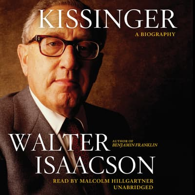 Kissinger by Walter Isaacson audiobook