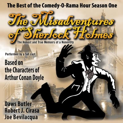The Misadventures of Sherlock Holmes by Joe Bevilacqua audiobook