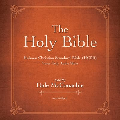 The Holy Bible by Dale McConachie audiobook