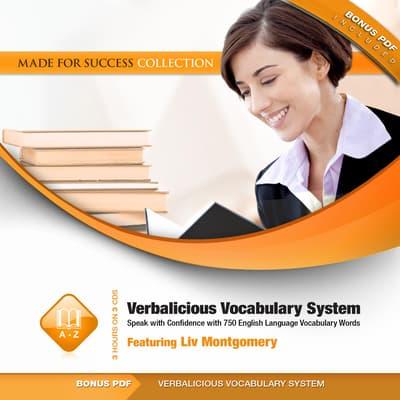 Verbalicious Vocabulary System by Liv Montgomery audiobook