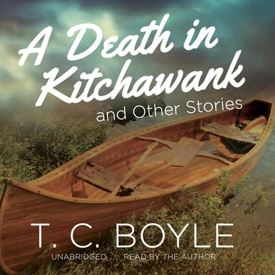 A Death in Kitchawank, and Other Stories by T. C. Boyle audiobook