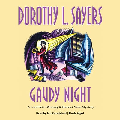 Gaudy Night by Dorothy L. Sayers audiobook