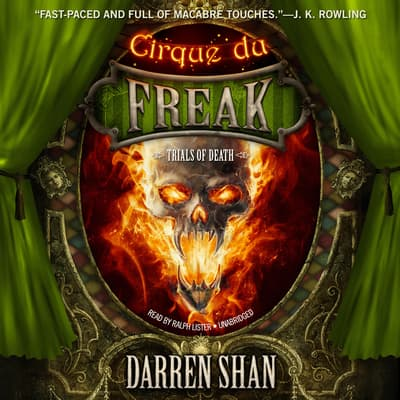 Trials of Death by Darren Shan audiobook