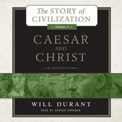Caesar and Christ by Will Durant audiobook
