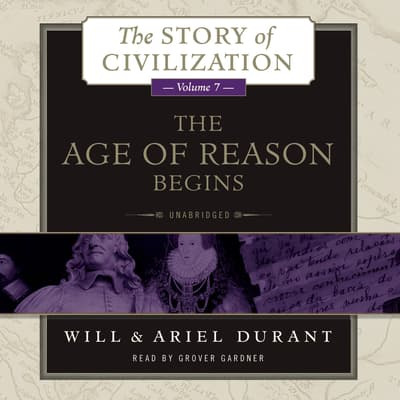 The Age of Reason Begins by Will Durant audiobook