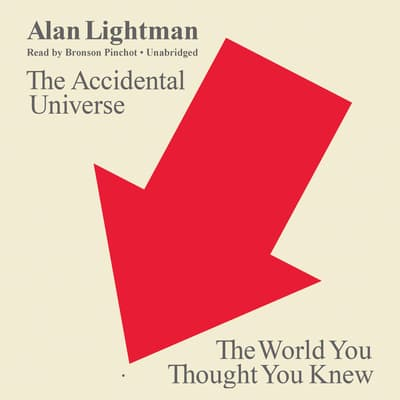 The Accidental Universe by Alan Lightman audiobook