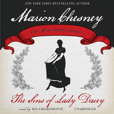 The Sins of Lady Dacey by M. C. Beaton audiobook