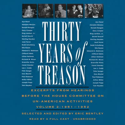 Thirty Years of Treason, Vol. 2 by Eric Bentley audiobook