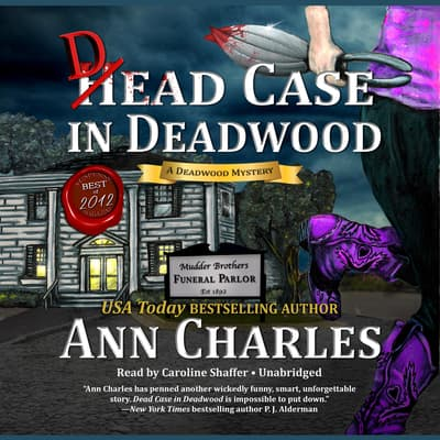 Dead Case in Deadwood by Ann Charles audiobook