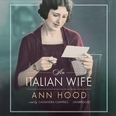 An Italian Wife by Ann Hood audiobook