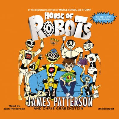 House of Robots by James Patterson audiobook