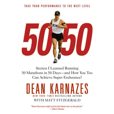 50/50 by Dean Karnazes audiobook
