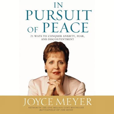 In Pursuit of Peace by Joyce Meyer audiobook