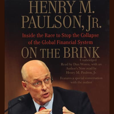 On the Brink by Henry M. Paulson audiobook