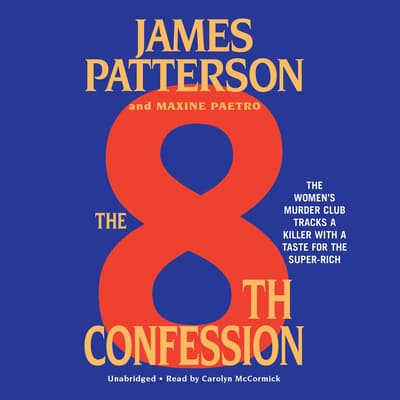 The 8th Confession by James Patterson audiobook