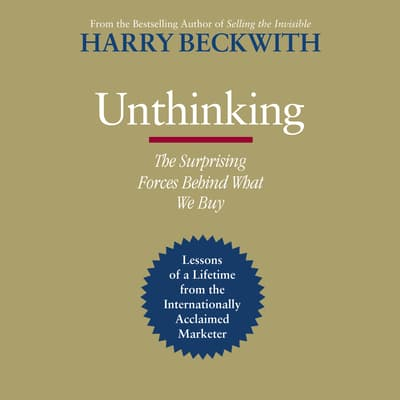 Unthinking by Harry Beckwith audiobook