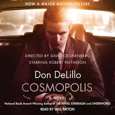 Cosmopolis by Don DeLillo audiobook