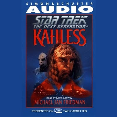 Kahless by Michael Jan Friedman audiobook