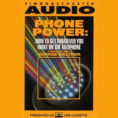 Phone Power by George Walther audiobook