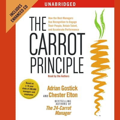 The Carrot Principle by Adrian Gostick audiobook