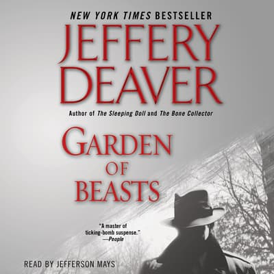 Garden of Beasts by Jeffery Deaver audiobook