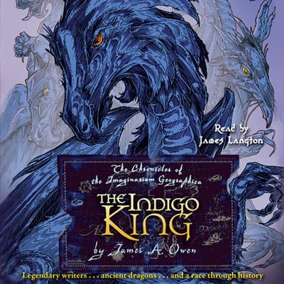 The Indigo King by James A. Owen audiobook