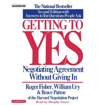 Getting to Yes by Roger Fisher audiobook