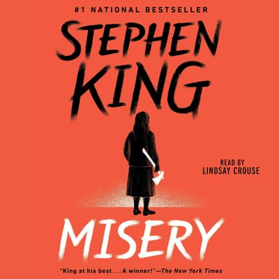 Misery by Stephen King audiobook