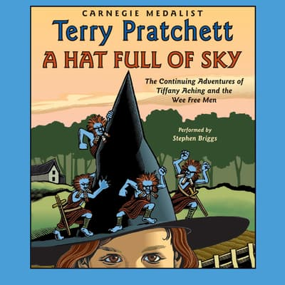 A Hat Full of Sky by Terry Pratchett audiobook