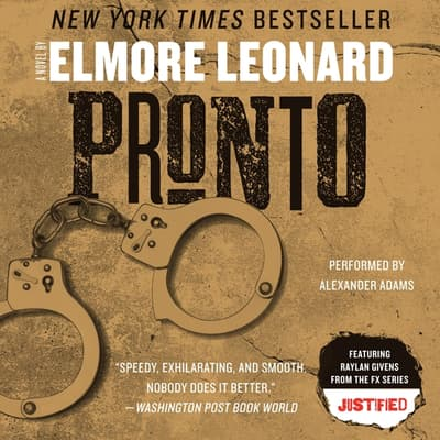 Pronto by Elmore Leonard audiobook