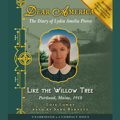 Like the Willow Tree by Lois Lowry audiobook